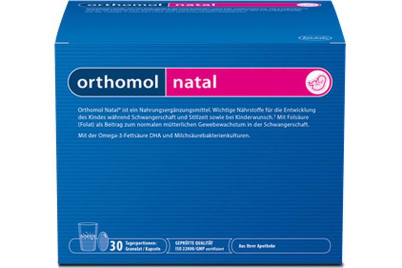 Orthomol Natal - Dinh dưỡng toàn diện cho mẹ và bé